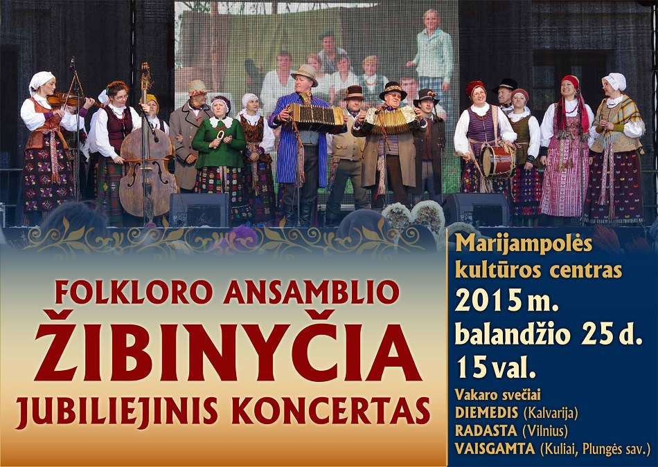 Zibinycios Jubiliejinis koncertas
